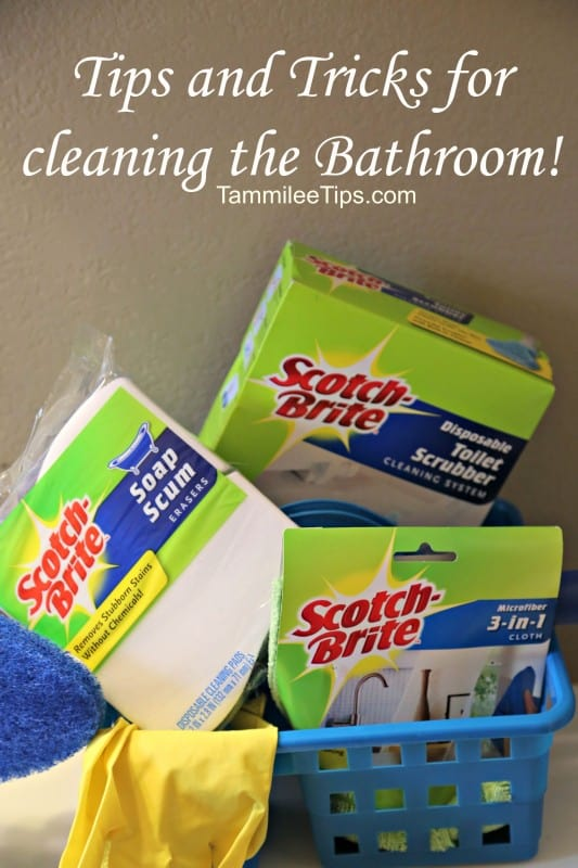 Tips And Tricks For Cleaning The Bathroom