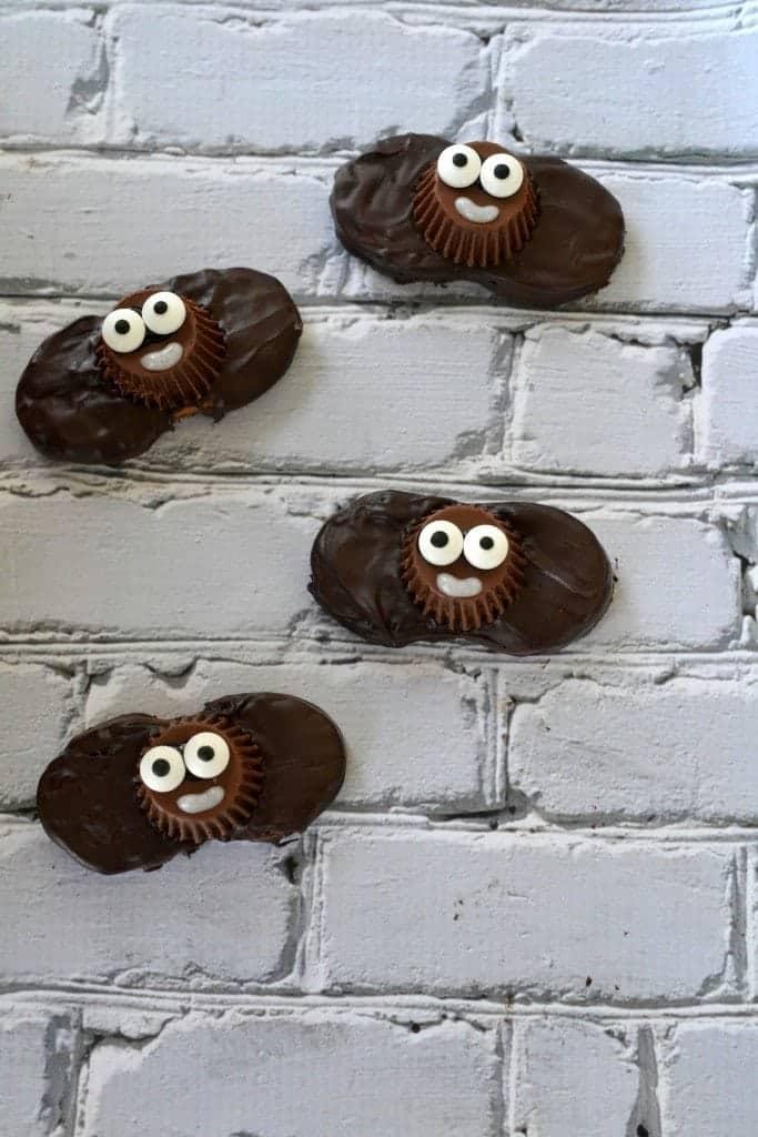 Bat Nutter Butter Cookies Halloween Treats
