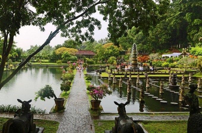 Tirta Gangga Water Palace in Bali