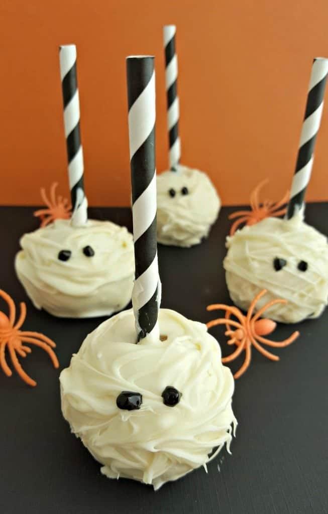 how to make mummy cake pops