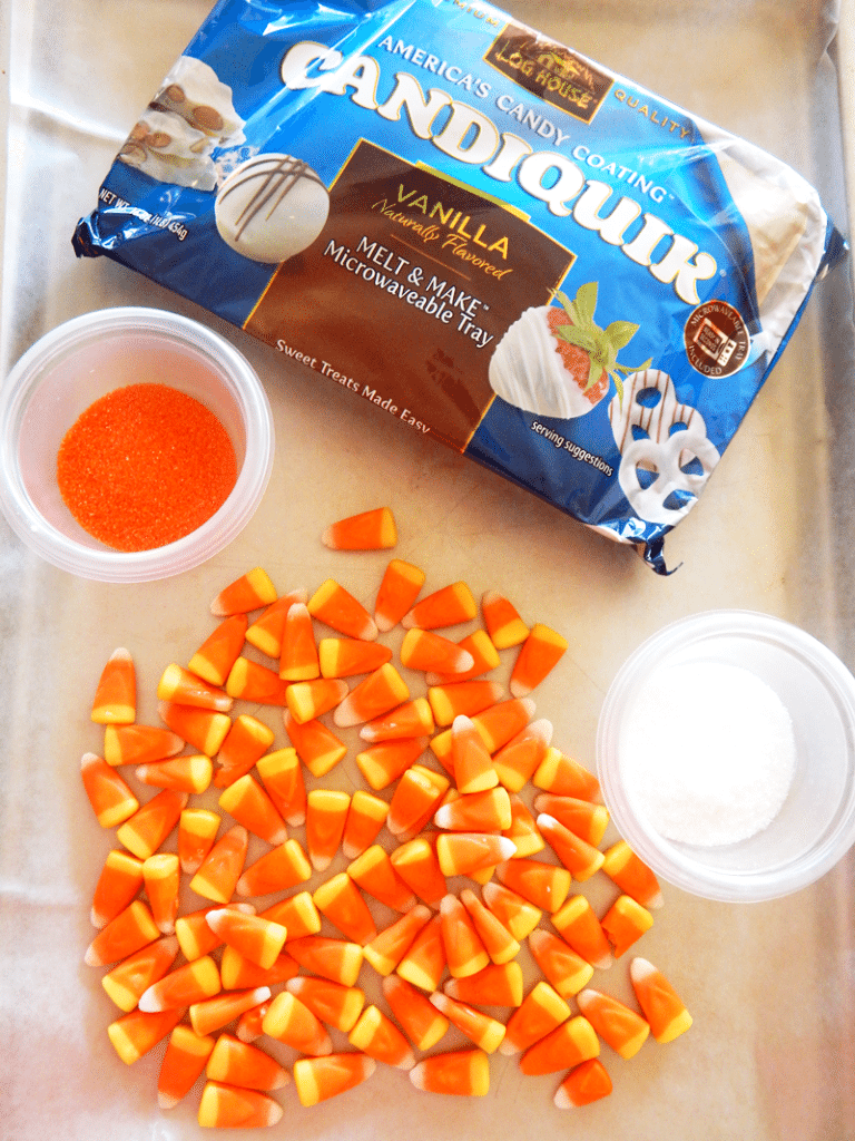 Candy Corn Bark Ingredients