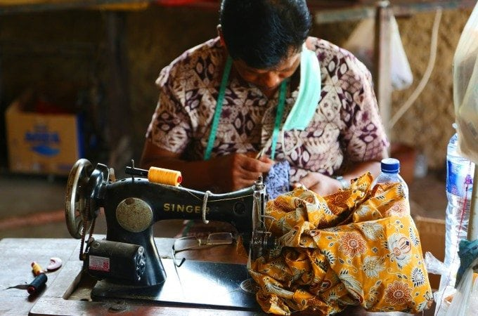 Amazing visit to a Batik Factory in Bali