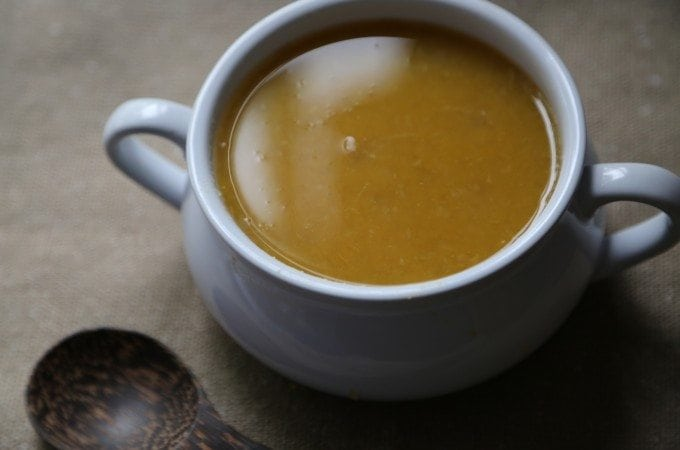 Crock Pot Butternut Apple Soup Recipe