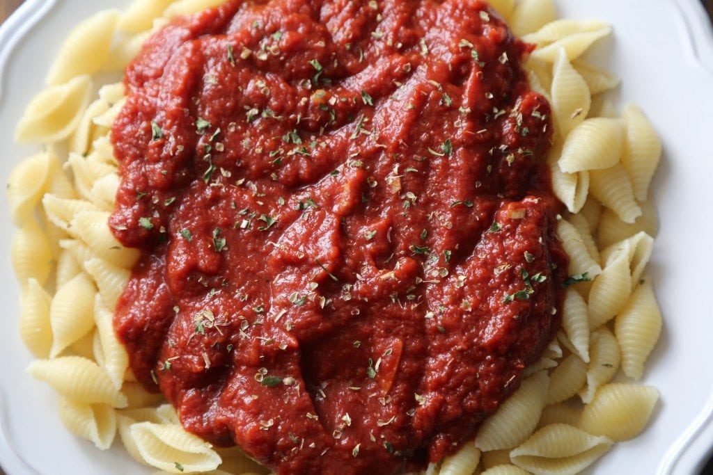 Crock Pot Marinara Sauce Recipe