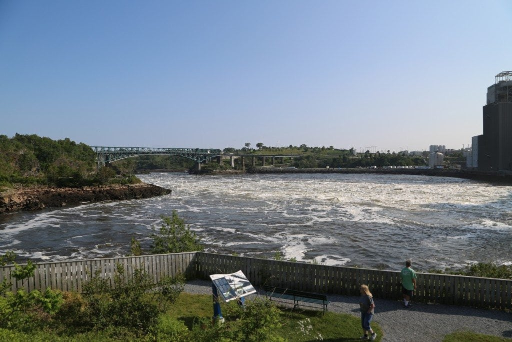 Reversing Rapids New Brunswick