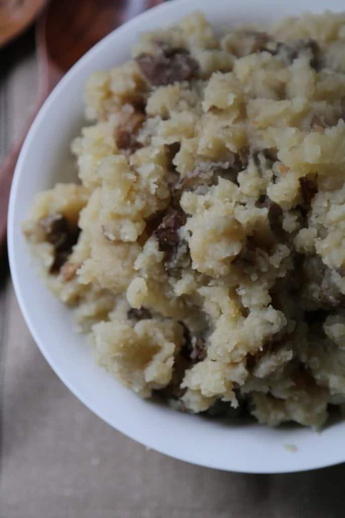 Crock Pot Garlic Mashed Potatoes Recipe