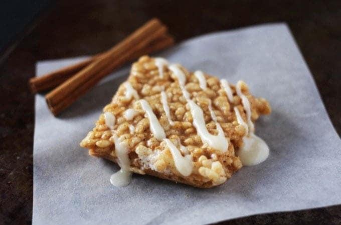 Pumpkin Spice Rice Krispie Treat Recipe