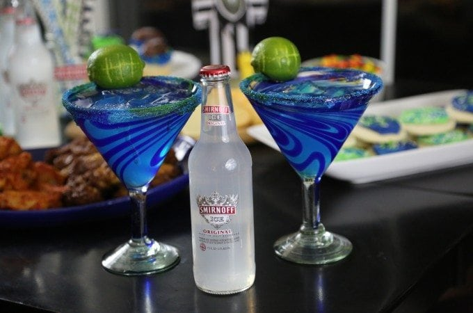 Seattle Football inspired Hawk-Arita Cocktail Recipe
