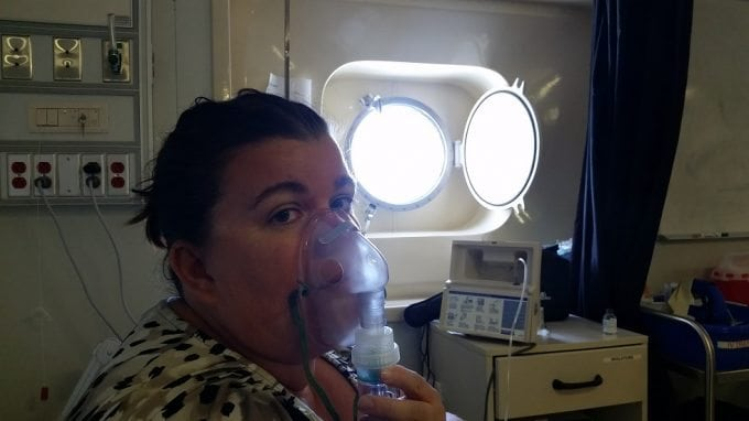 Amazing care from the Medical Center on the Carnival Conquest 6