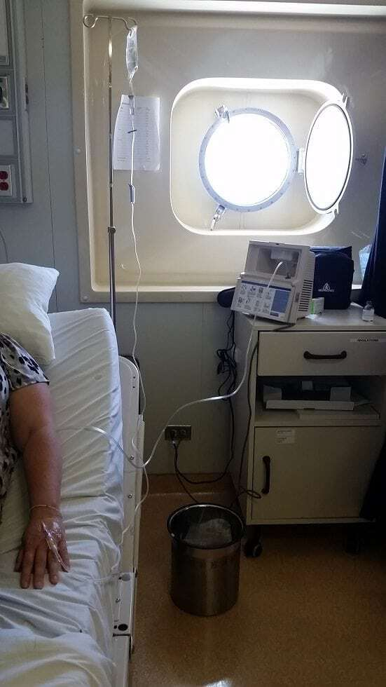 Amazing care from the Medical Center on the Carnival Conquest 7