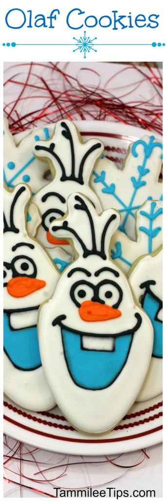 Easy How to Make Olaf Cookies Tutorial. Perfect for a Disney Frozen Themed birthday party!
