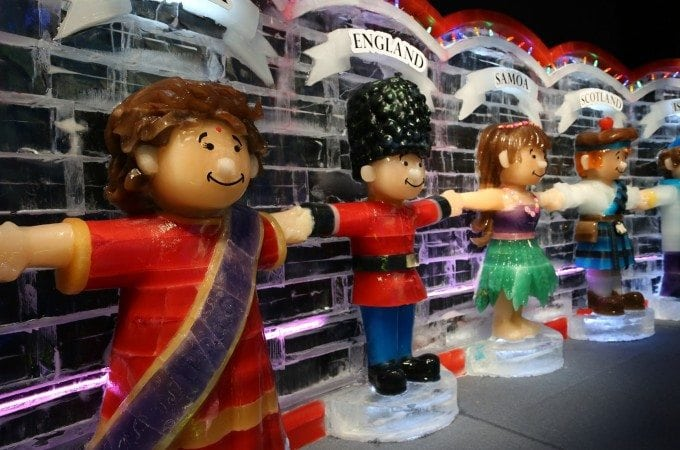 ICE! featuring Christmas Around the World at the Gaylord Texan Resort