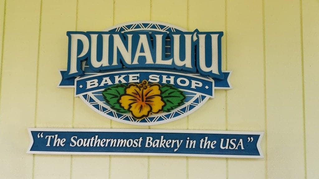 Punalu'u Bake Shop Big Island of Hawaii