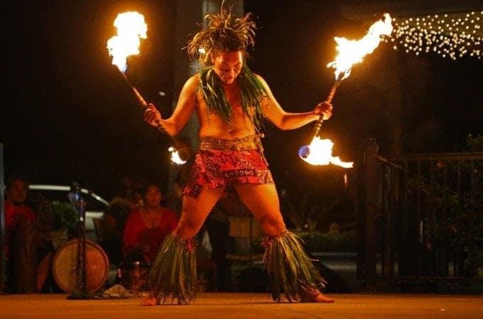 TeEa O Te Turama Free Hula Show on the Big Island of Hawaii at the Shops at Mauna Lani