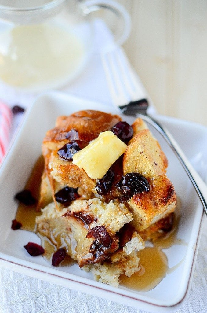 Eggnog French Toast Bake