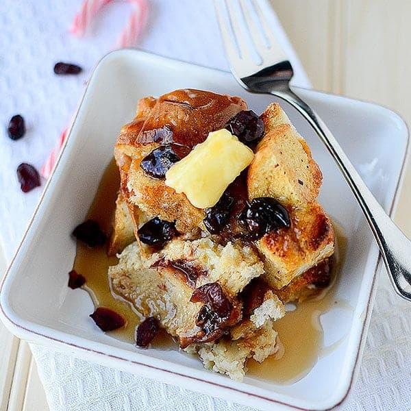Eggnog French Toast Bake square 1