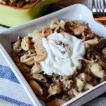 Crock Pot Mushroom Pasta Casserole Recipe