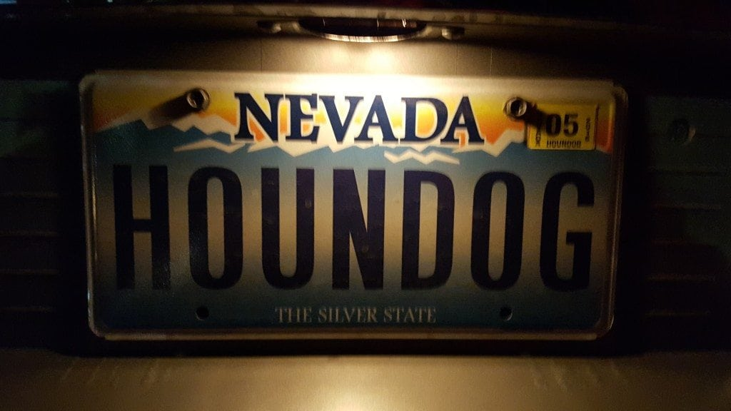 Elvis Chapel Houddog License Plate