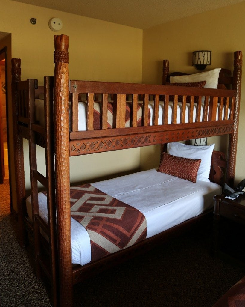 Animal Kingdom Lodge Bunk Bed Size