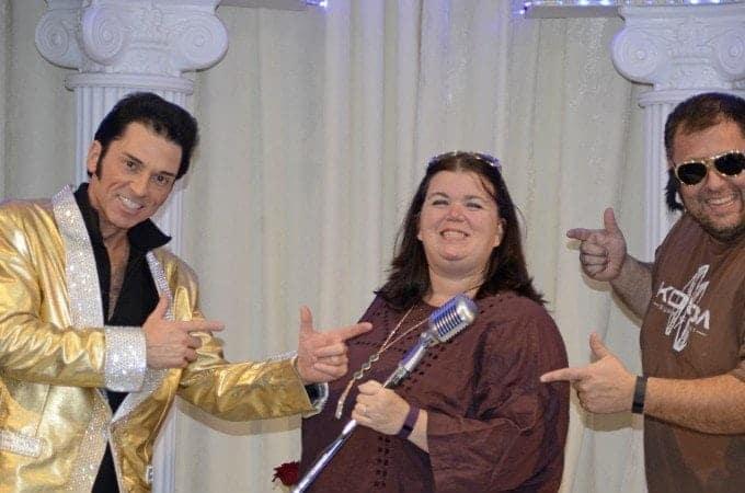 We did it! Elvis Wedding Las Vegas Vow Renewal!