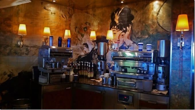 Coffee Bar on Carnival Conquest