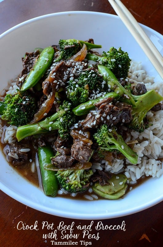 Slow Cooker Crock Pot Beef And Broccoli Recipe Tammilee Tips