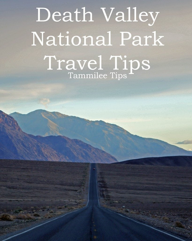 travel national parks death valley basics