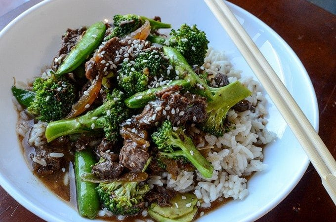 Slow Cooker Crock Pot Beef and Broccoli Recipe