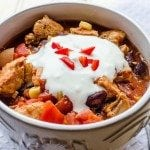 Slow Cooker Southwestern Chicken Chili 4