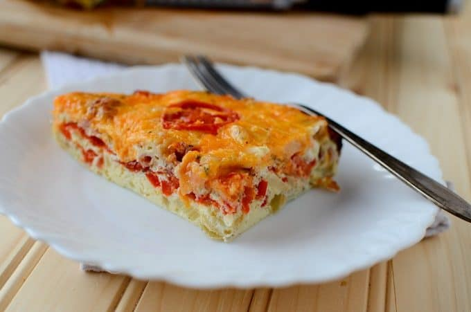 Crock Pot Spicy Bacon and Egg Breakfast Casserole Recipe ...