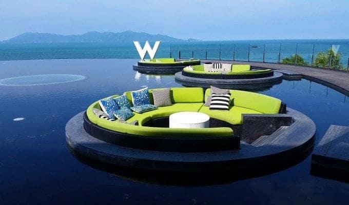 Dream visit to the W Koh Samui, Thailand