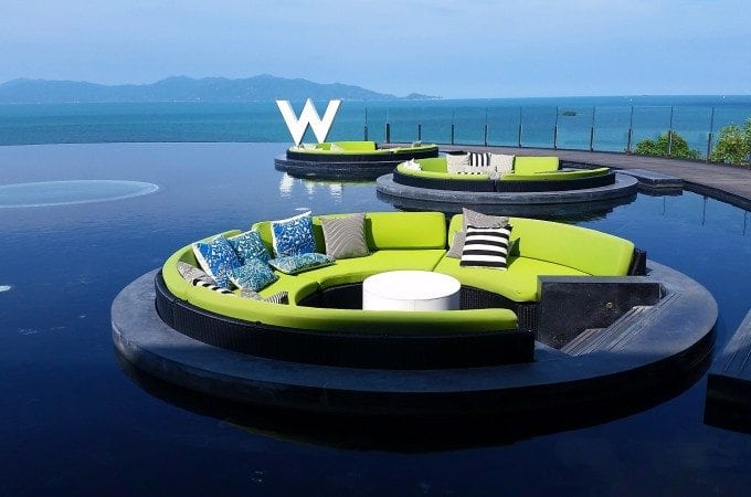 Dream visit to the W Koh Samui, Thailand