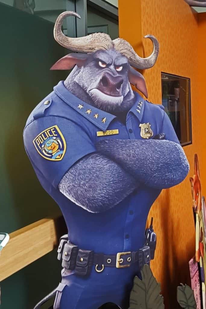 police at Disney Animal Kingdom