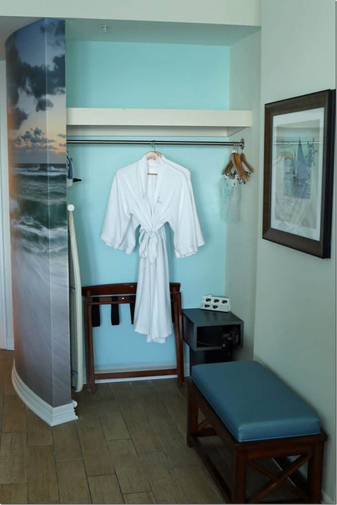 robes and safe in Margaritaville Pensacola