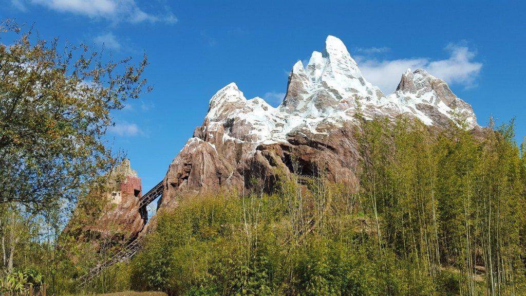rollercoaster at Disney Animal Kingdom