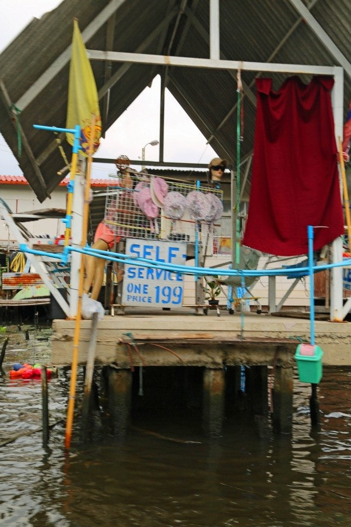 self serve on the Choa Phraya River