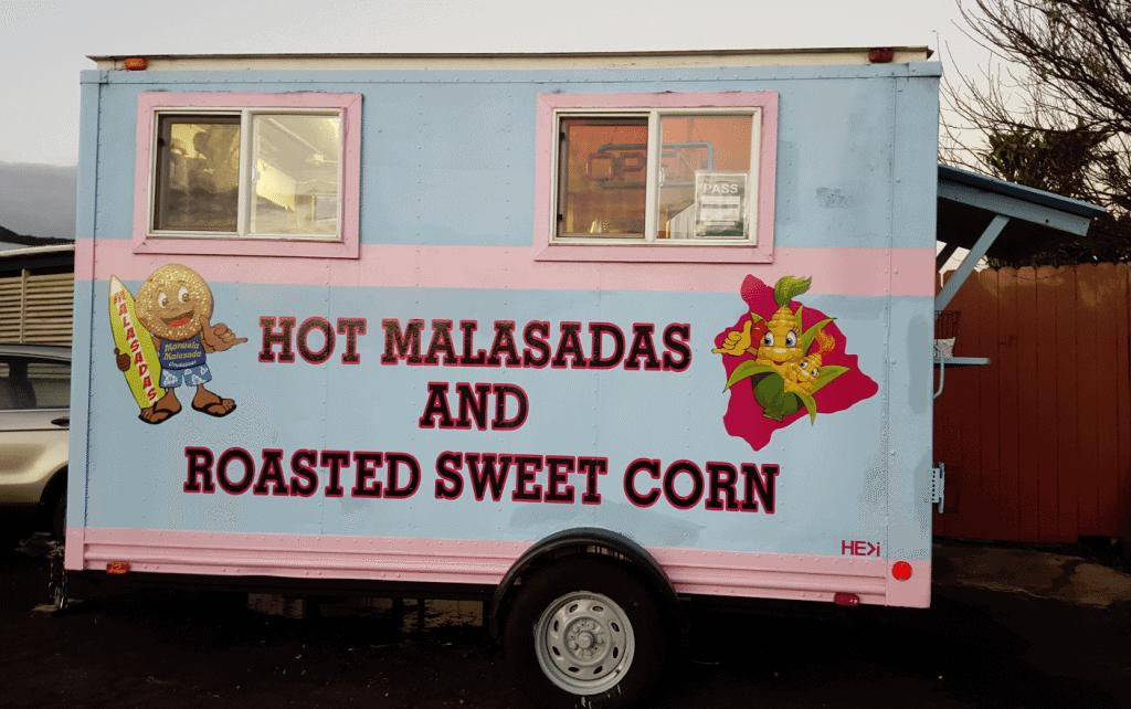 Malasada Truck in Waimea