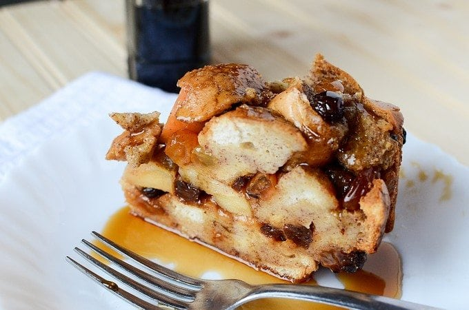 Crock Pot Apple Raisin French Toast Recipe