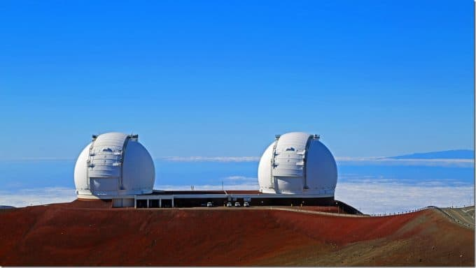 WM Keck Observatory at Mauna Kea