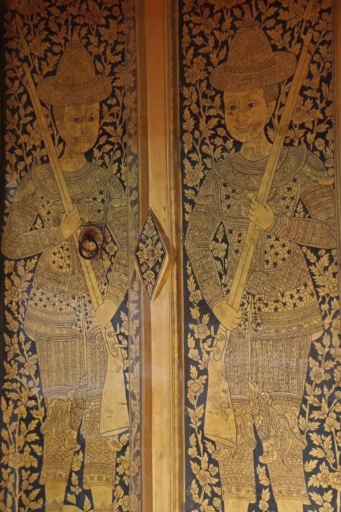 doors at Stupa of Wat Arun
