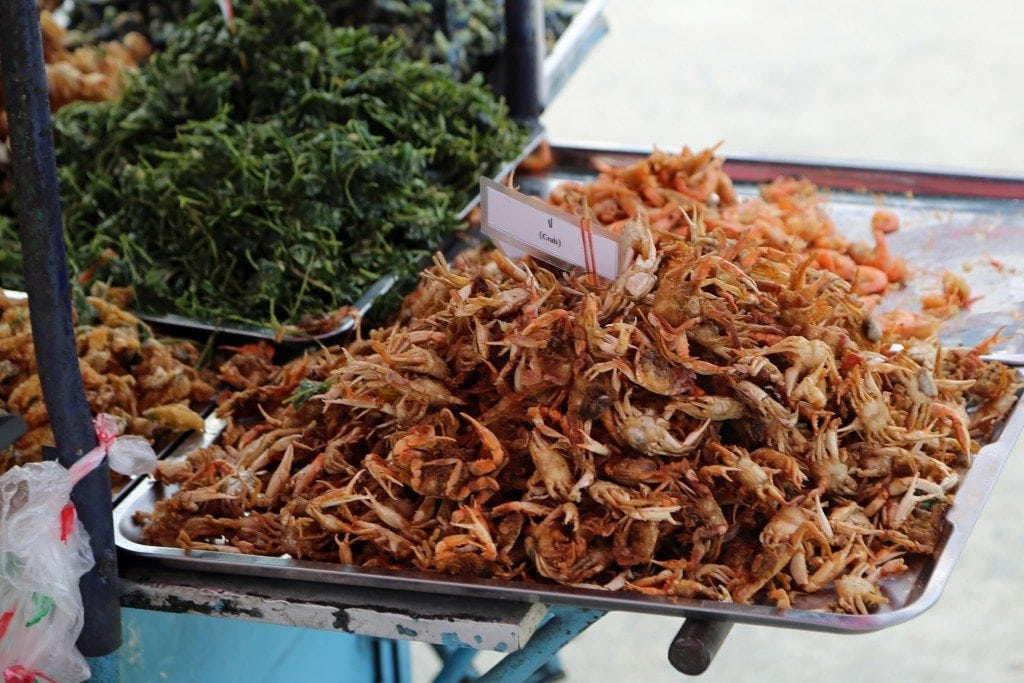 food ready at Sunday Market Thailand