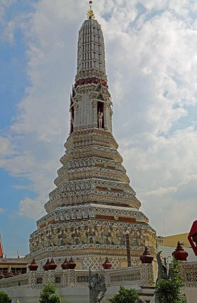 statue in Stupa of Wat Arun