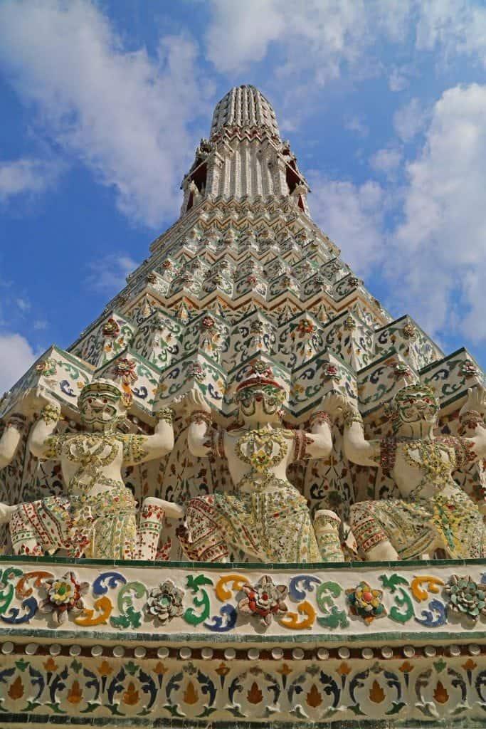 temple at Stupa of Wat Arun