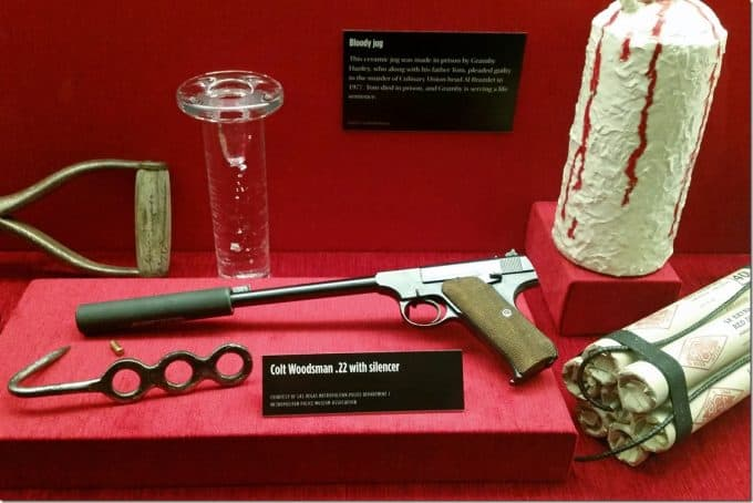 weapons from the mob