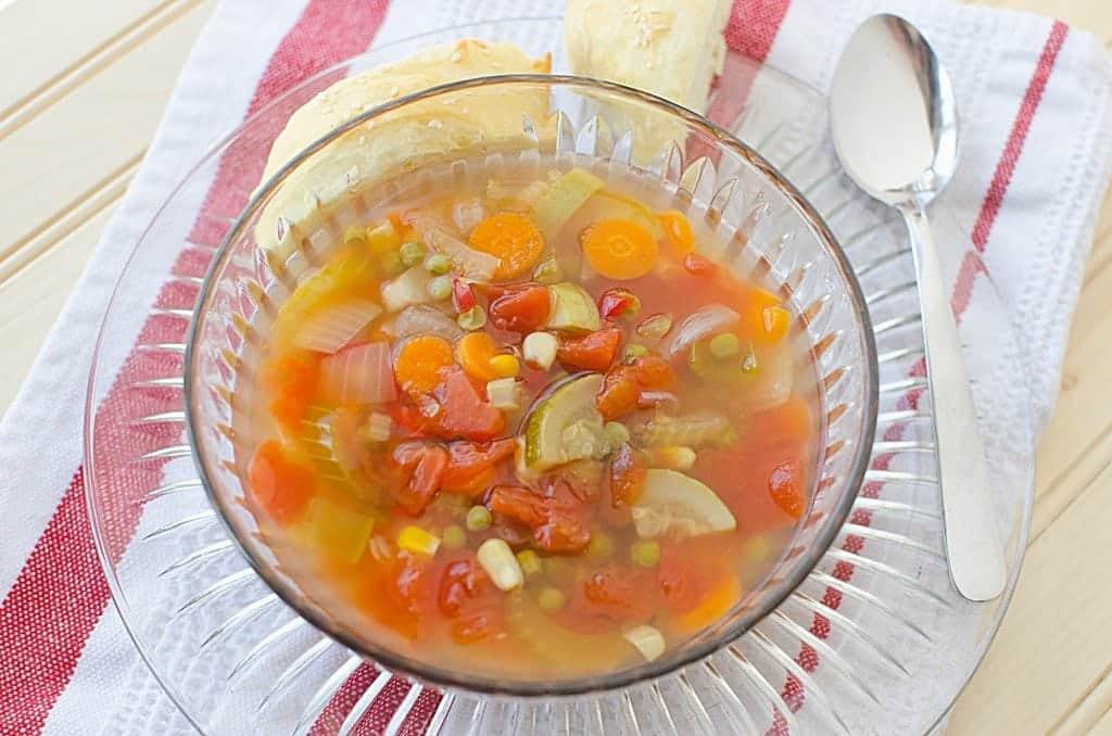 Crock Pot Vegetable Soup Recipe