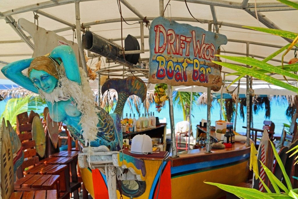 Drift Wood Boat Bar