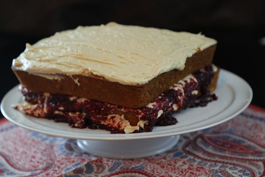 Peanut Butter and Jelly Cake Recipe