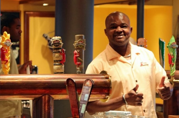 Carnival jumps into the micro-brew craze on board the Carnival Vista with the Red Frog Pub and Brewery