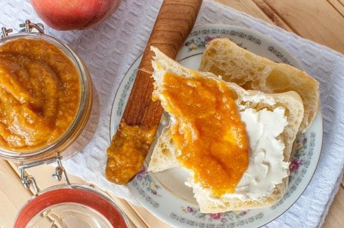 Crock Pot Peach Butter Recipe