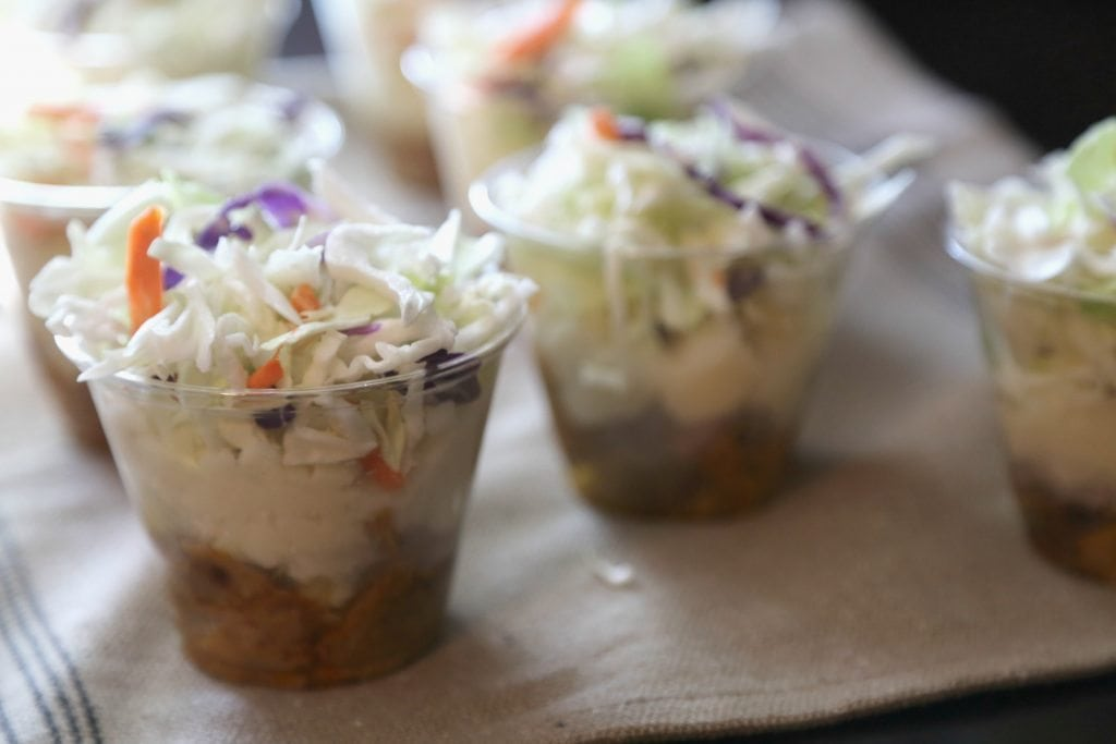 Pulled Pork Parfaits for Summer Barbecue